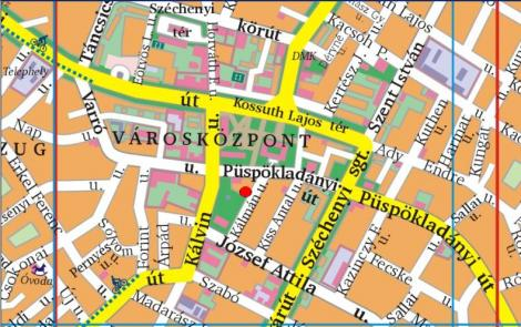 karcag térkép Helyszínrajz karcag térkép